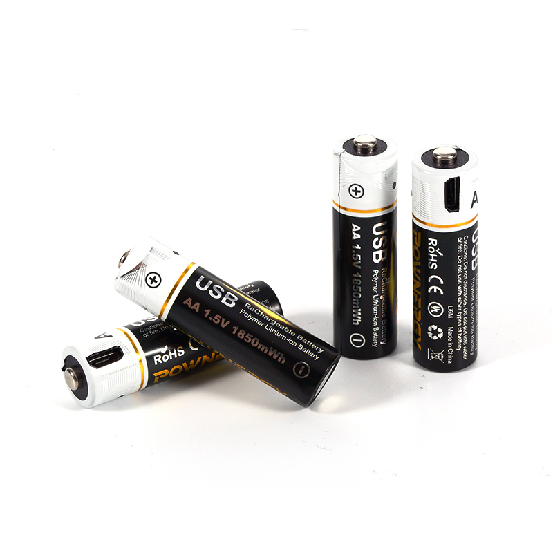 New AA Battery With Micro USB Charger