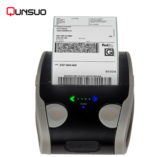 OEM/ODM customized 58mm Handheld Mobile Bluetooth printer