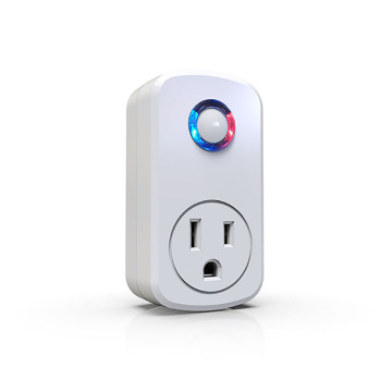 Socket with mobile phone software control