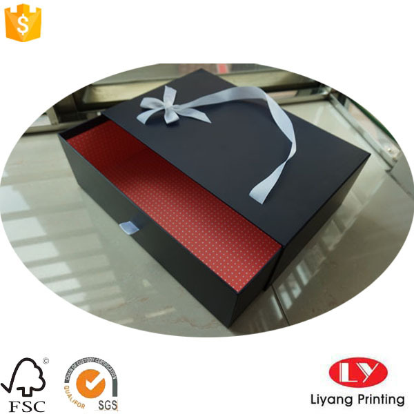 Luxury Drawer Boxes with Ribbon for Shoes