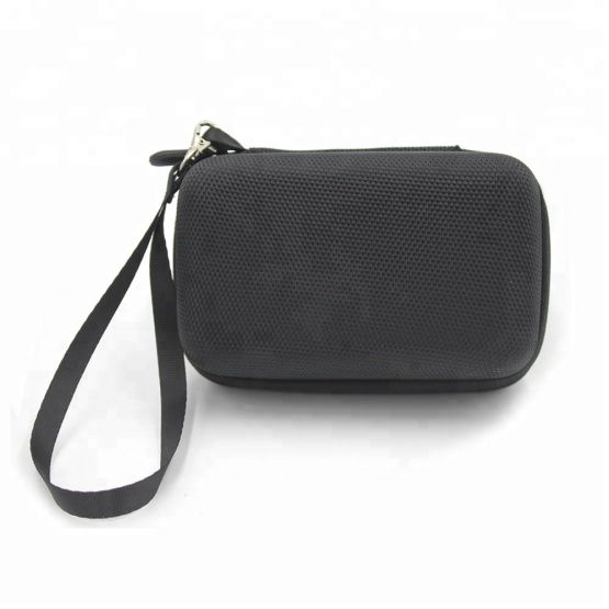Hardware Anti-scratch Black Nylon EVA Radio Travel Case with Wrist handle