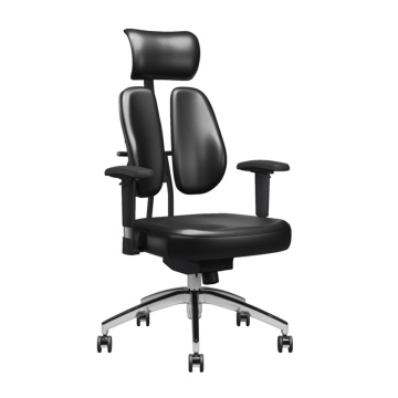 Dual Back Ergonomic Swivel Executive Office Chair