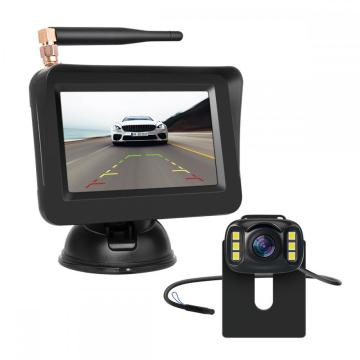 Wireless Car Camera with 4.3inch Car Monitor