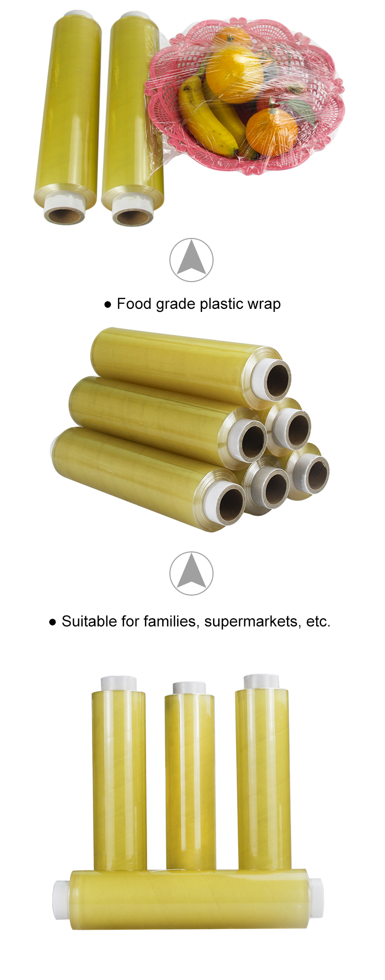 Plastic Food Wrap Food Service Film