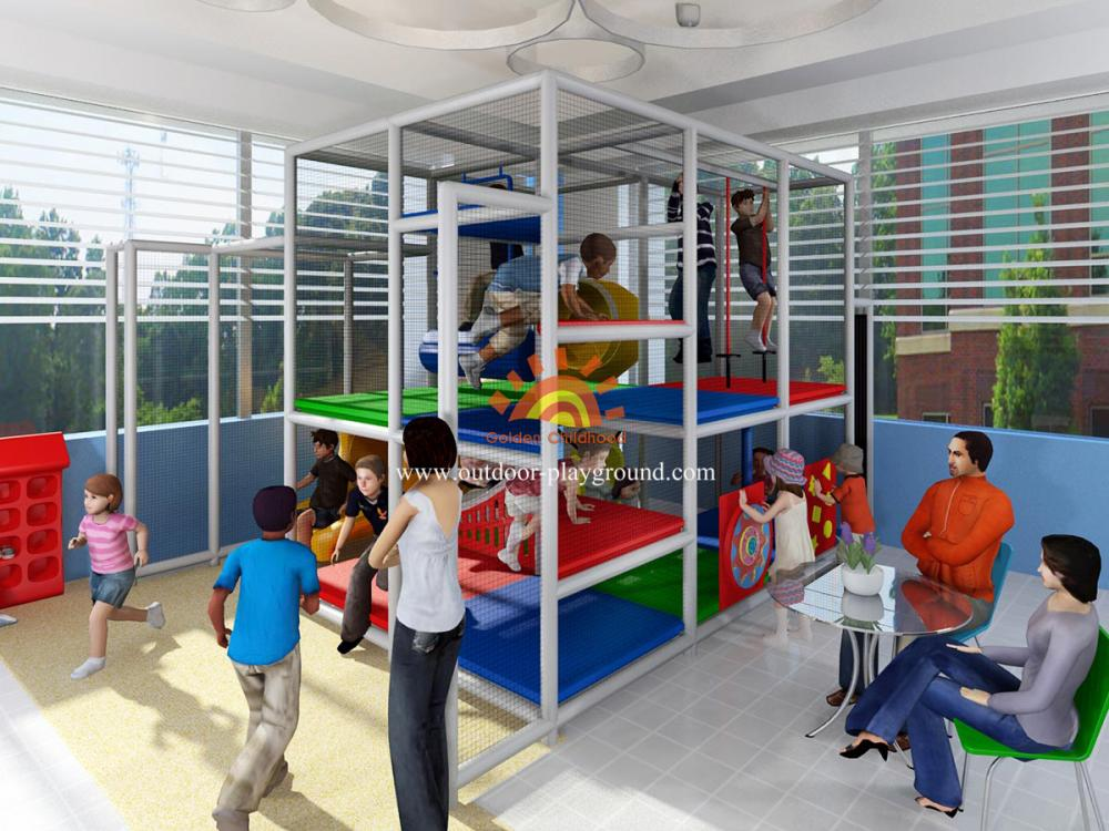 Kids Play Structure Indoor Playground Structure