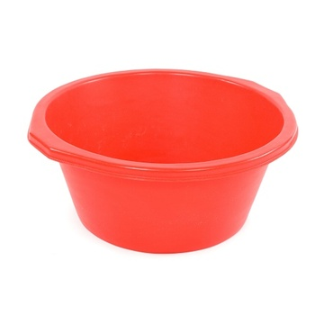 Food grade colorful round fruit snack plastic bowl