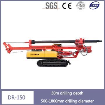 廉价的500-1800米井眼高性能钻机