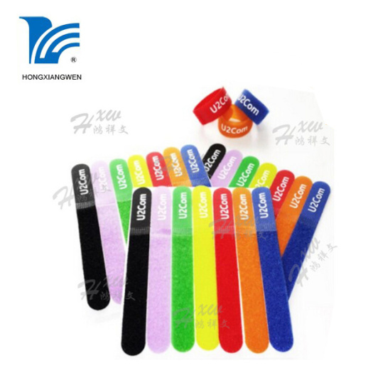 Wholesale Nylon Colored Cable Hook Loop Ties