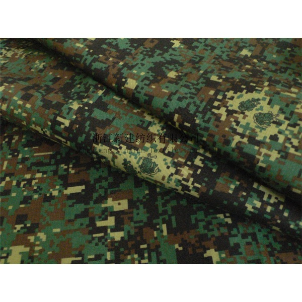 Military Camouflage CVC Fabric for Philippines