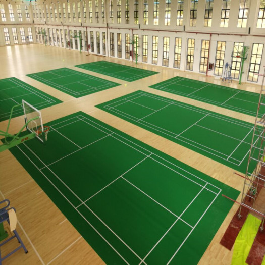 BWF Badminton Court Mat Pvc Sports Floor