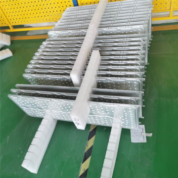 Aluminum liquid cooled cold plate for Solar panel