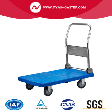 Push Hand Truck Four Wheel Folding