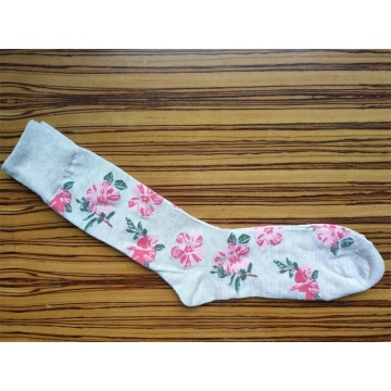 flower socks for ladies
