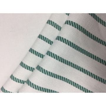 32s Rayon Twill Stripe Print Fabric