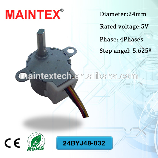 miniature stepper motors, miniature stepper motors with linear actuation, miniature stepper motors for air conditioner