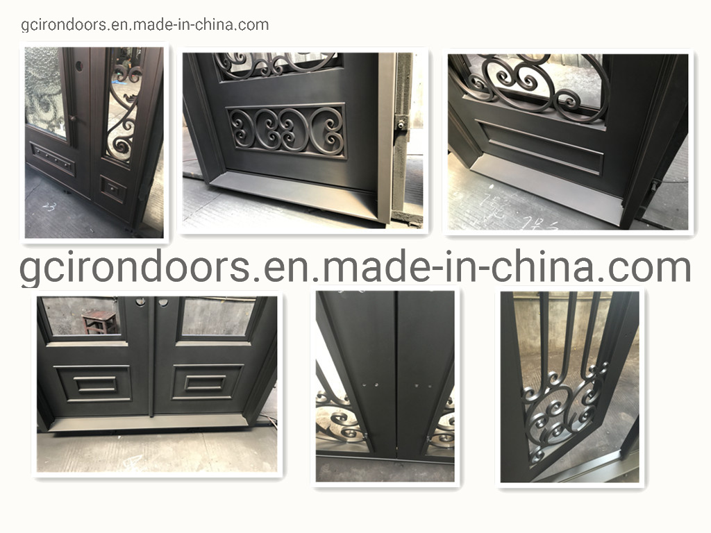 2019 Factory Hot-Selling Security Iron Garden Gates