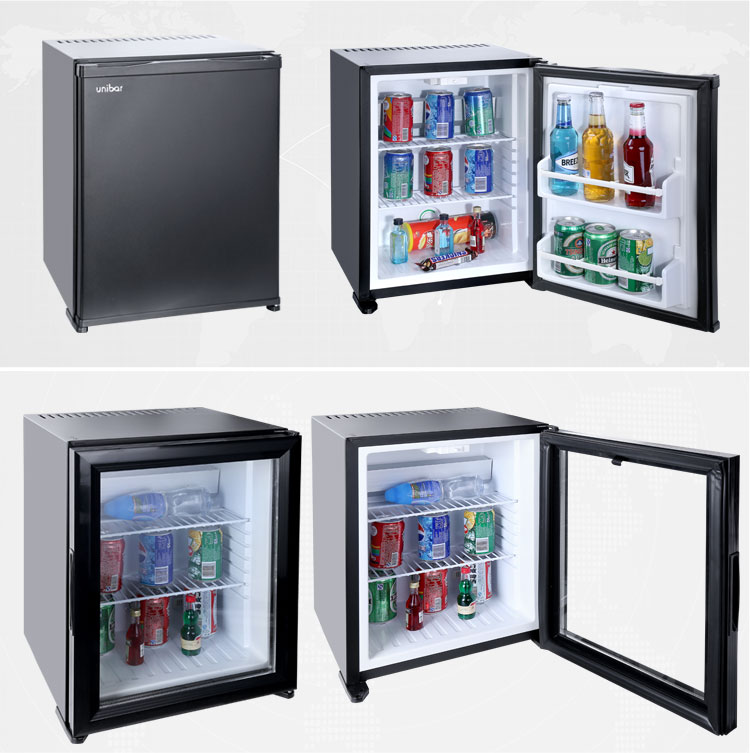 28 liter glass door mini bar fridge