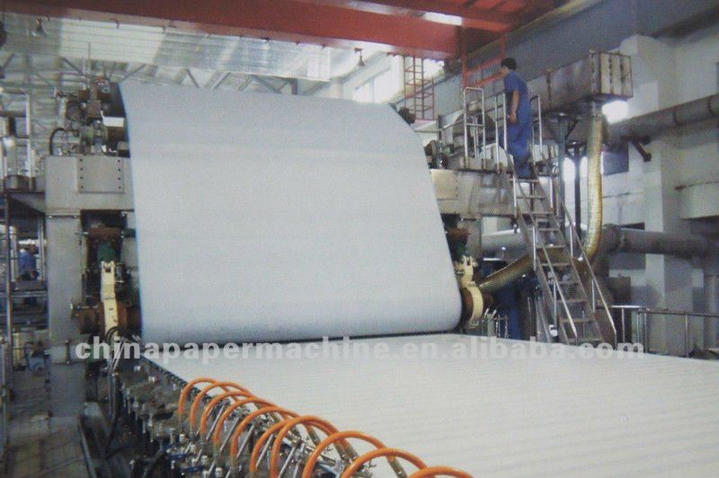 Fourdrinier Paper Machine For A4 Paper