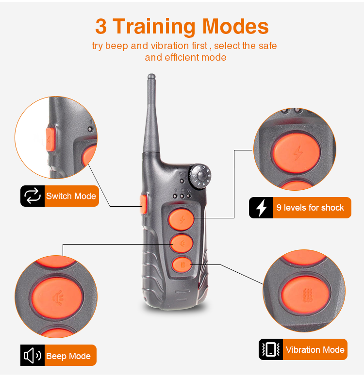 Pet Shock Dog E-collar Training