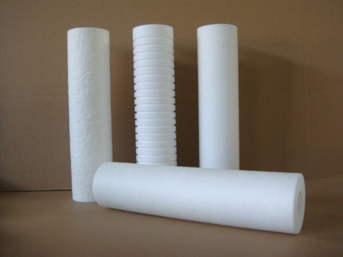 High Flux 10'' 20 Inch PP Melt Blown Spun Filter Cartridge 3.0um 5.0 Micron for Prefiltration