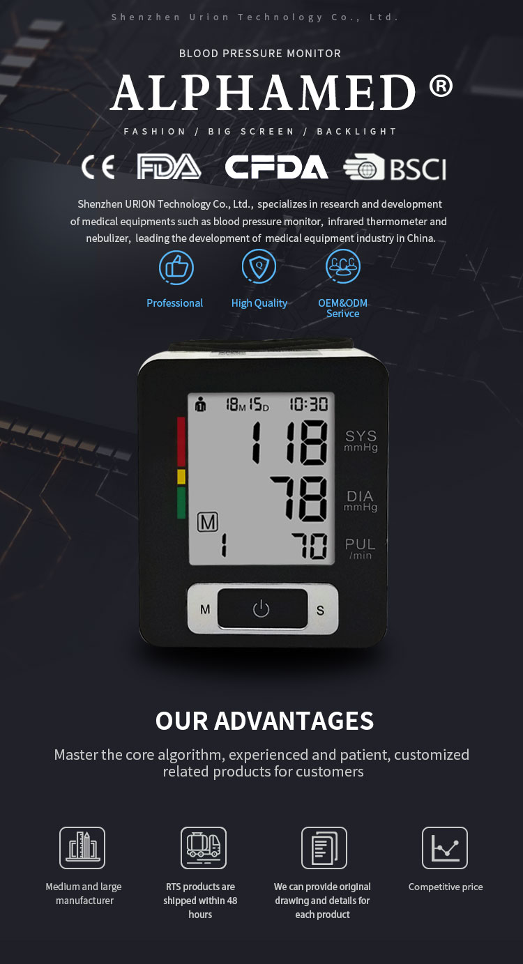 wrist watch blood pressure monitor