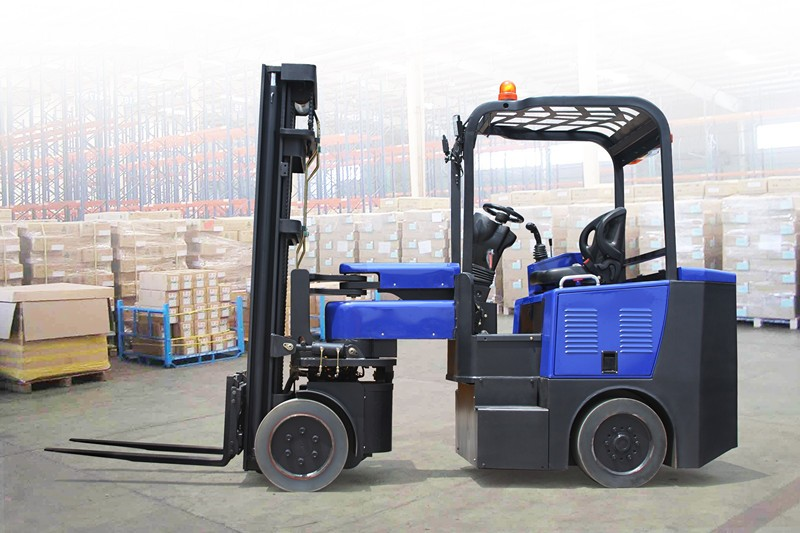 articulated lift truck