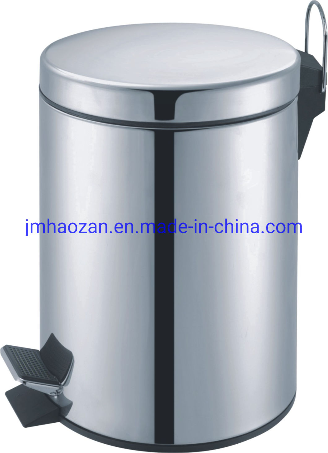 Soft Close Stainless Steel Pedal Waste Bin, Dustbin