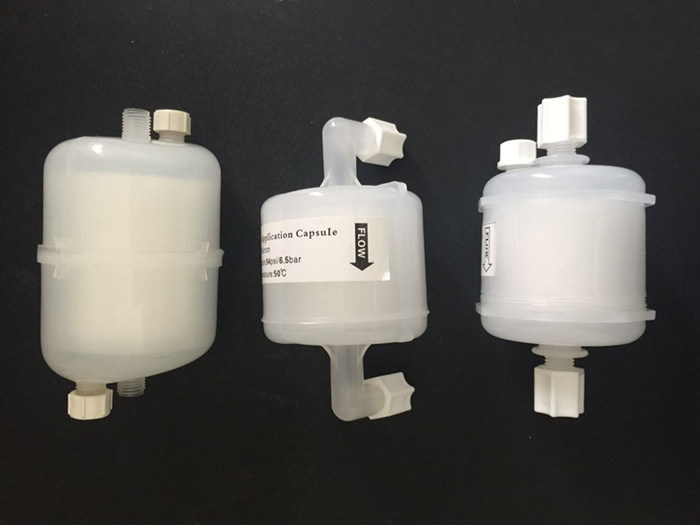 0.2um PVDF Membrane 5 Inch PV Capsule Filter with 1/4'' Cnpt Connection