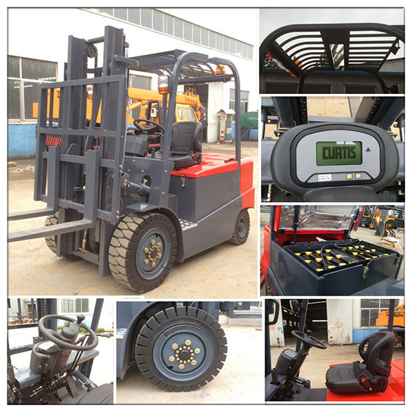 3.5 tons electric compact forklift
