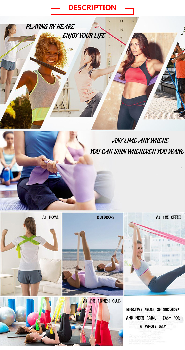 Rubber Band Fitness Equipment