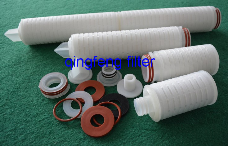 PTFE Pleated Filter Cartridge