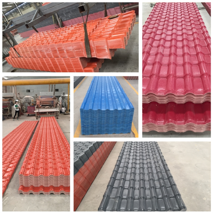pvc roof sheet for villas