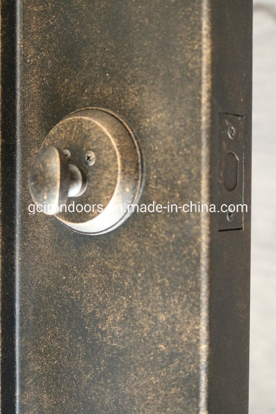 Square Top Clean Finish Iron Interior Door