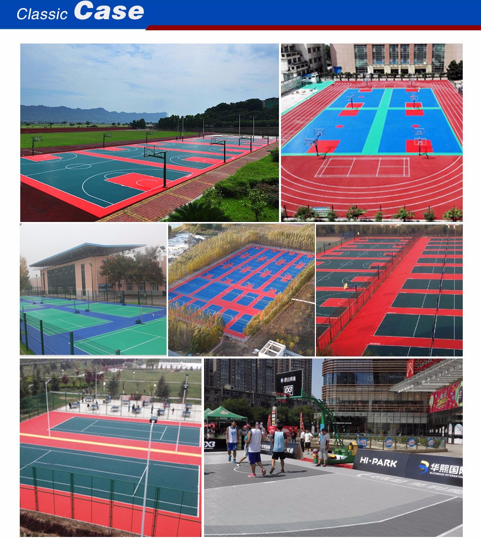 Basketball Court Modular Tile