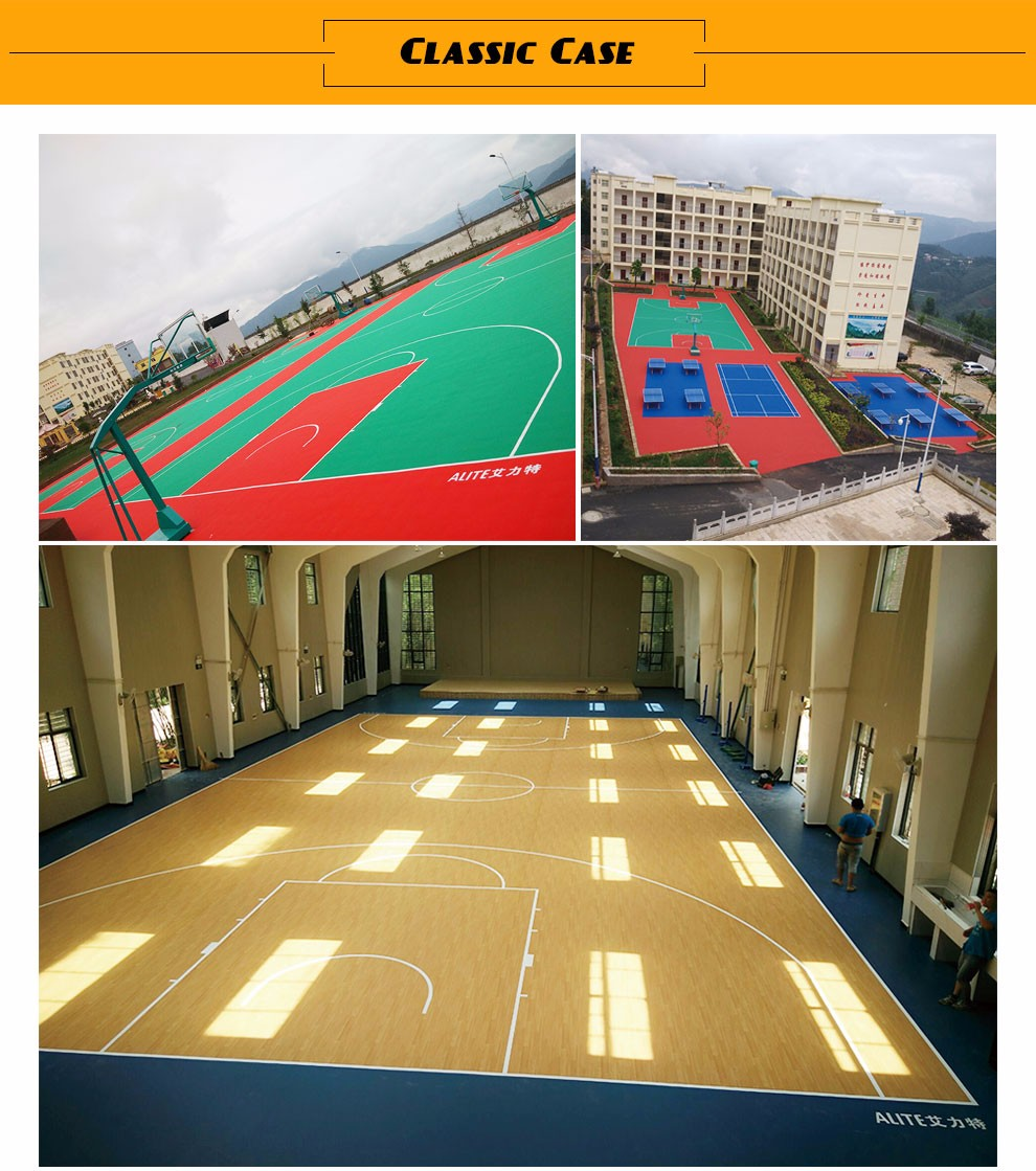 Portable Sport Courts Flooring