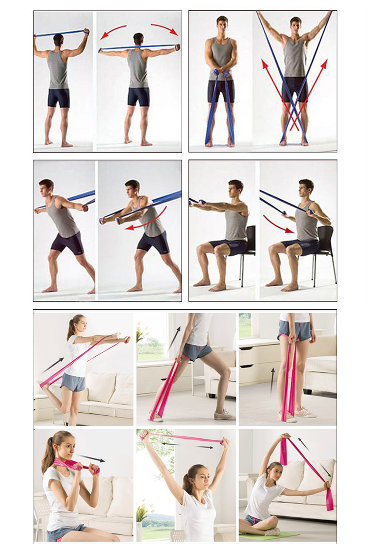 Gym Exercise Bands