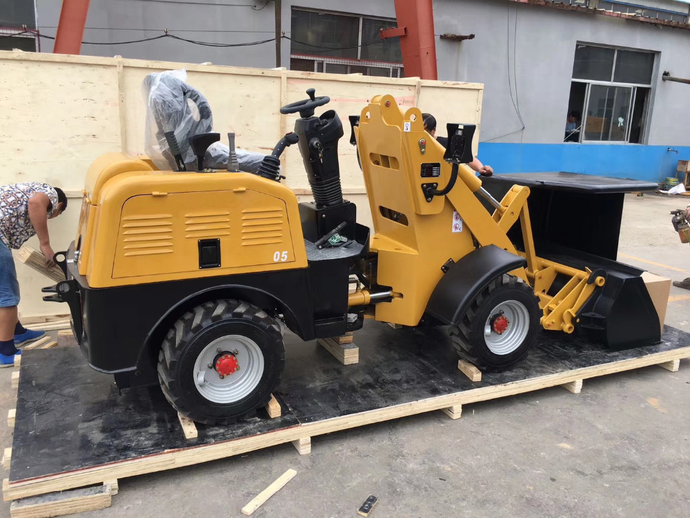 ROPS Battery wheel loader